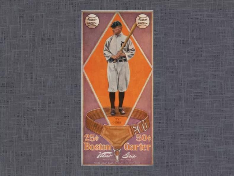 1914 Boston Garter Ty Cobb