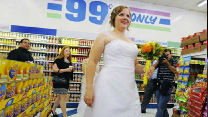 Wedding At Dollar Tree