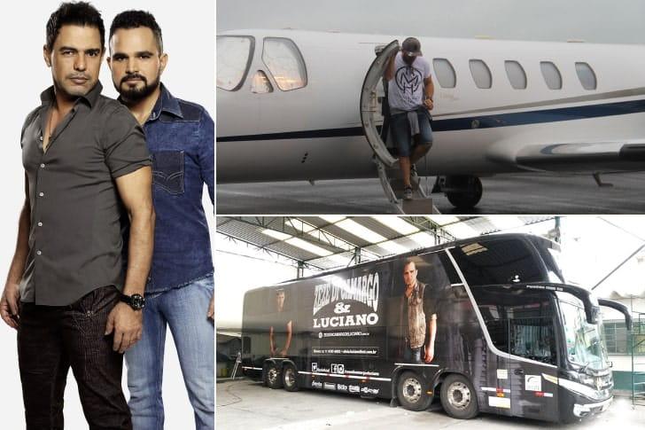 Zezé di Camargo e Luciano – R$ 200 milhões