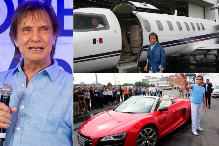 Roberto Carlos – R$ 500 milhões