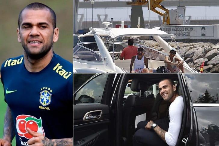 Dani Alves– R$ 350 milhões