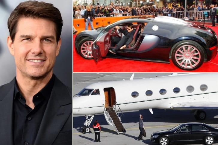 Tom Cruise – US$ 570 milhões