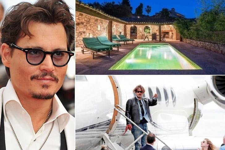 Johnny Depp – US$ 650 milhões