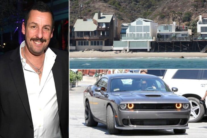 Adam Sandler – US$ 420 milhões