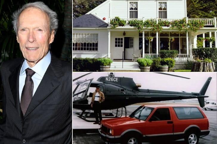 Clint Eastwood – US$ 375 milhões