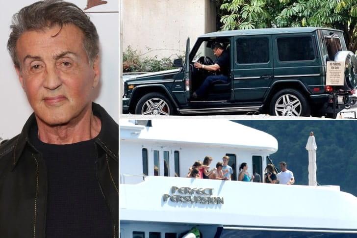 Sylvester Stallone – US$ 400 milhões