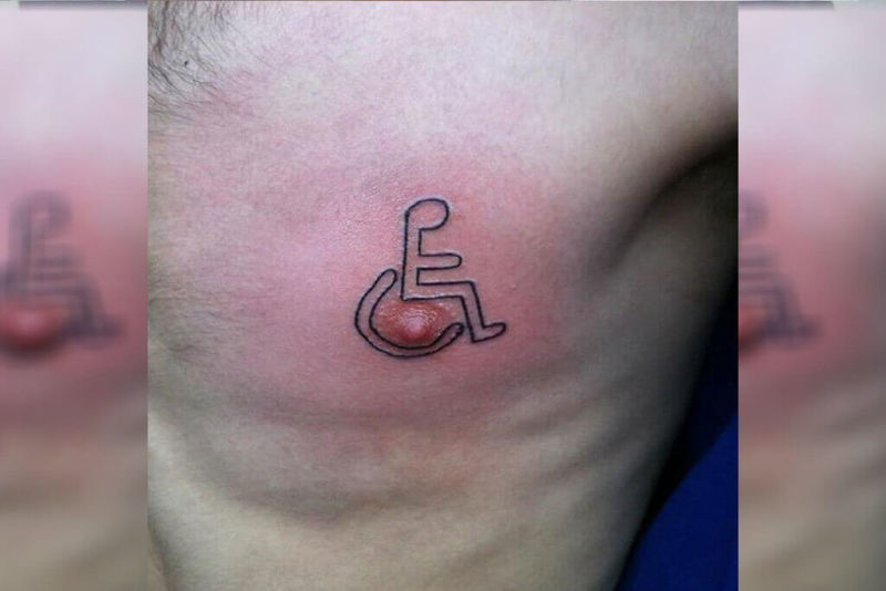 Nippel Tattoo