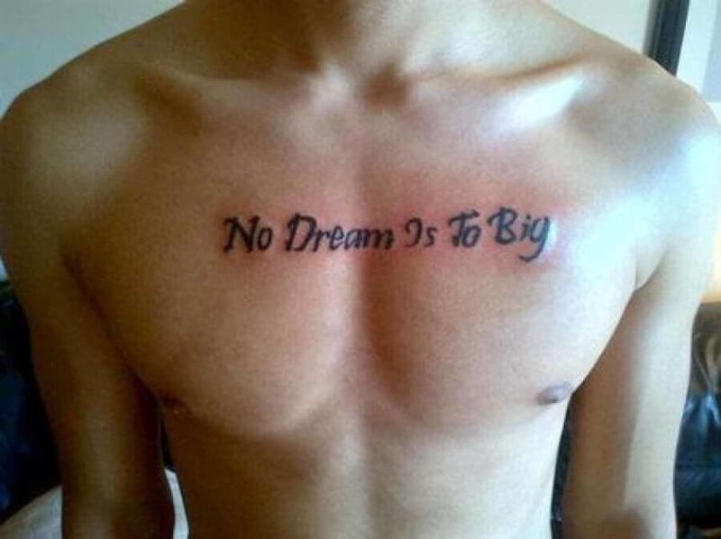 No Dream Is To(o) Big
