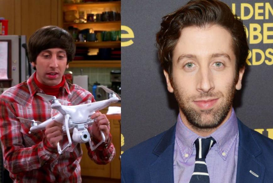 Simon Helberg Como Howard Wolowitz