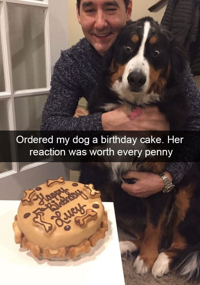 Her Own Birthday Cake