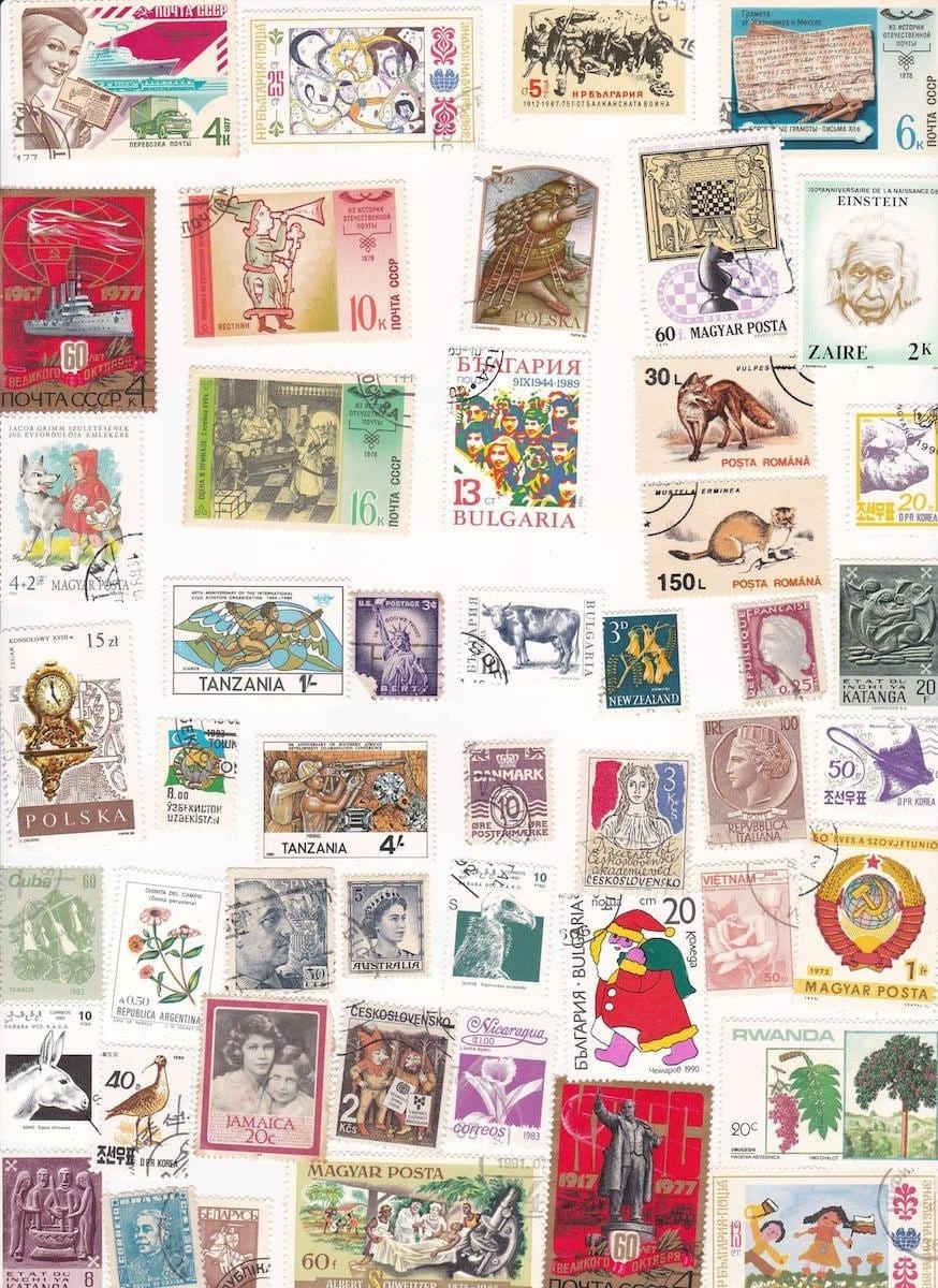 Pristine Collection Of Stamps