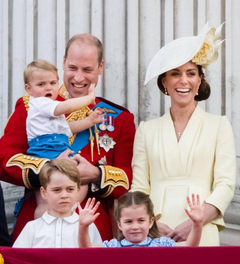 Kate's Three Children Were Seen By The Public