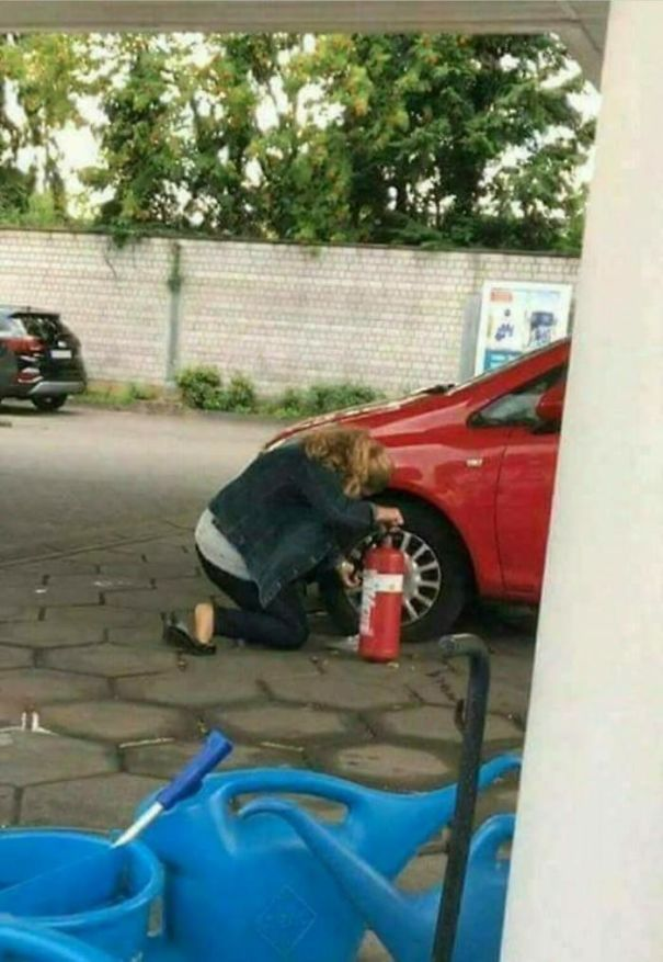Tire Extinguisher