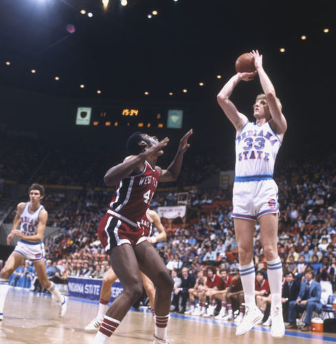 Larry Bird (Indiana State, 1976-1979)