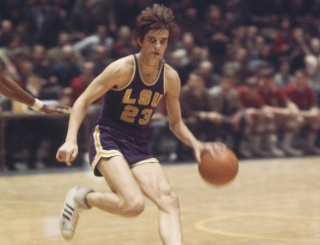 Pete Maravich (LSU, 1967-1970)