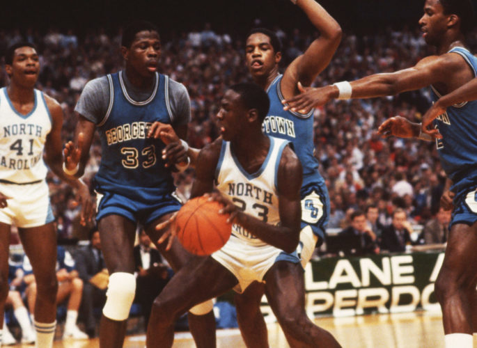 Michael Jordan (North Carolina, 1981-1984)