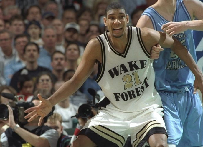 Tim Duncan (Wake Forest, 1993-1997)