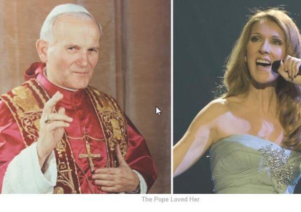 Cantó Frente Al Papa