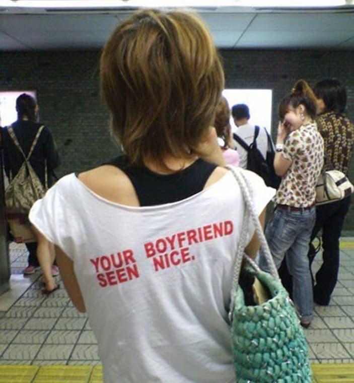 Your Boyfriend Seen Nice