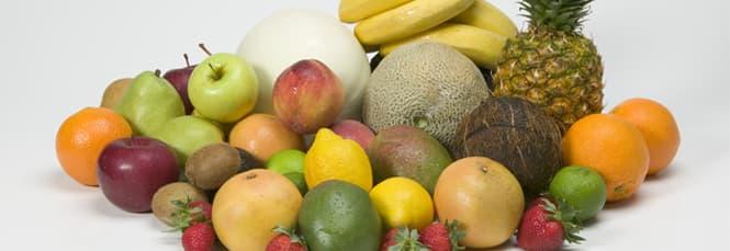 Früchte Wie Kiwi, Pfirsiche, Mangos
