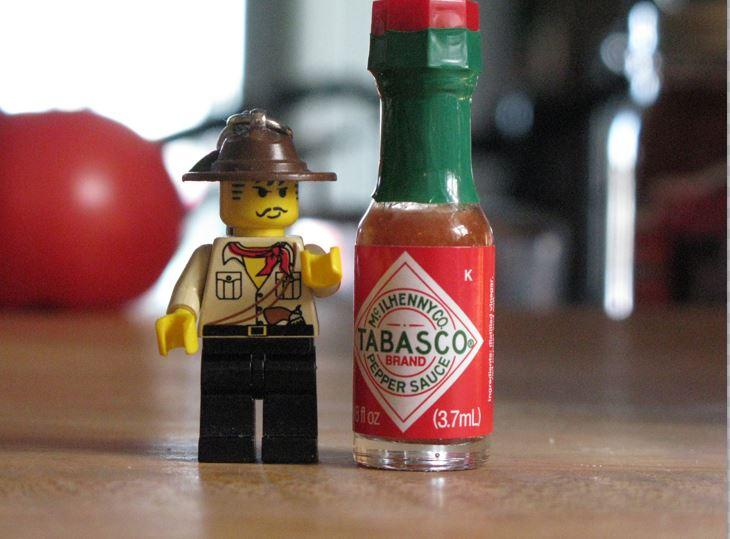Scharfe Sauce Und Tabasco