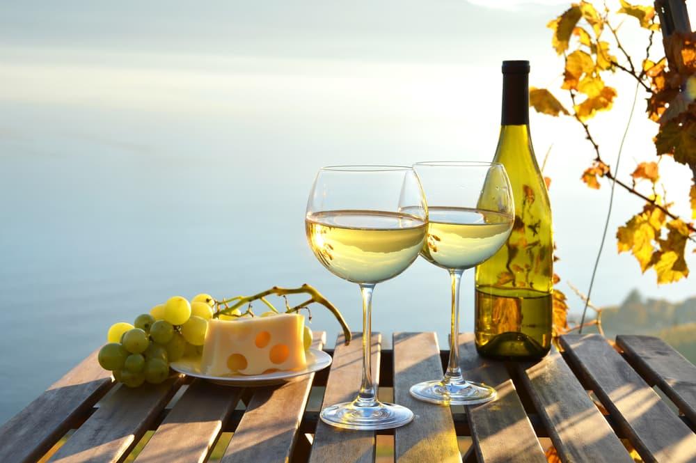 Reifer Weißwein