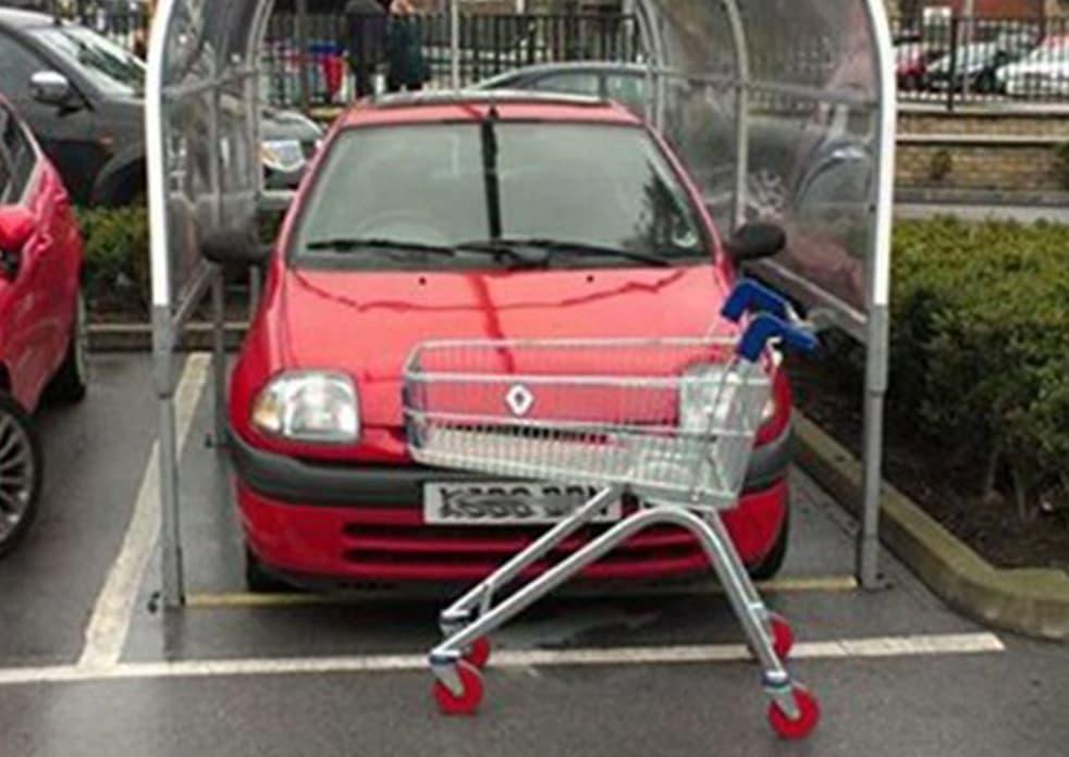 Shopping Cart Spot