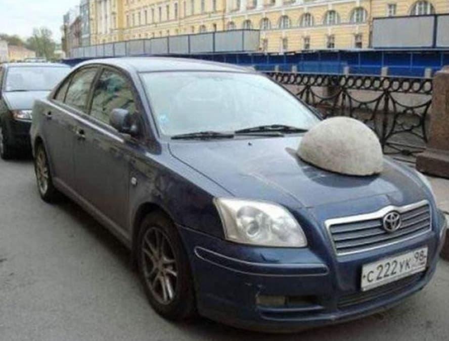 Rocked Car