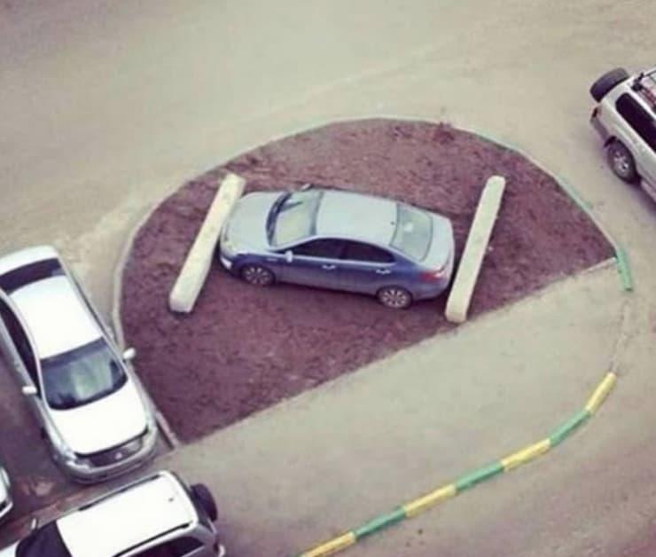 Unconventional Parking