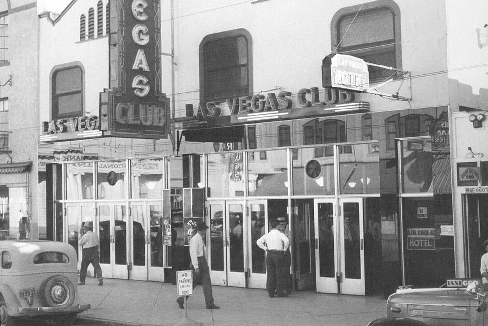 The First Neon Sign In Las Vegas