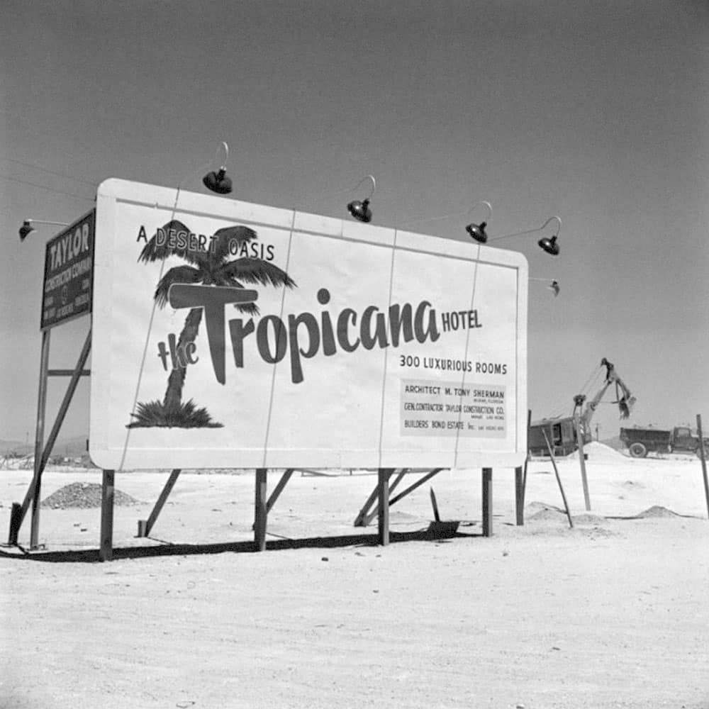 The Tropicana Hotel First Appears On The Strip