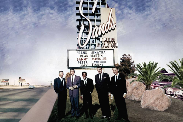 The Sands Welcomes The Rat Pack