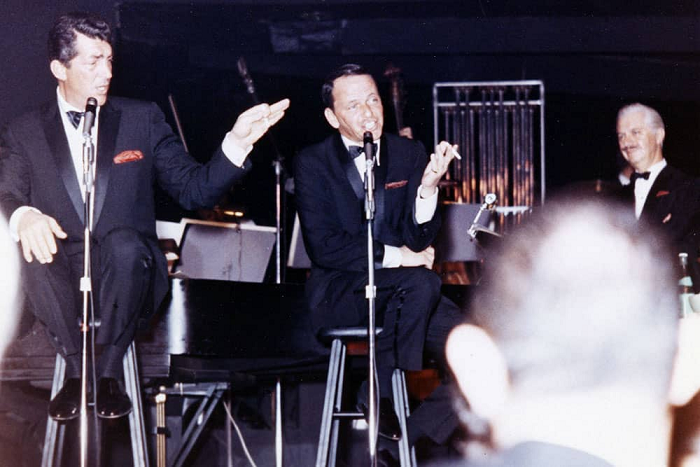 Frank Sinatra Performing At The Copa Room