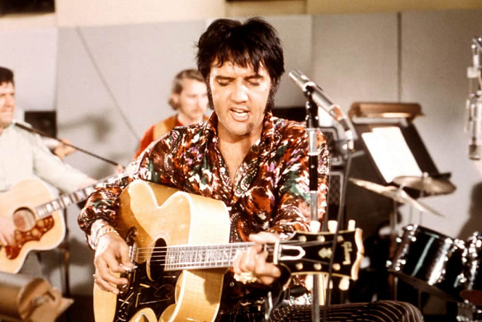 Elvis Presley Takes Up Residency In Vegas