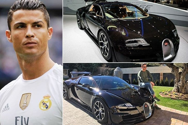 La Bugatti Veyron De Cristiano Ronaldo