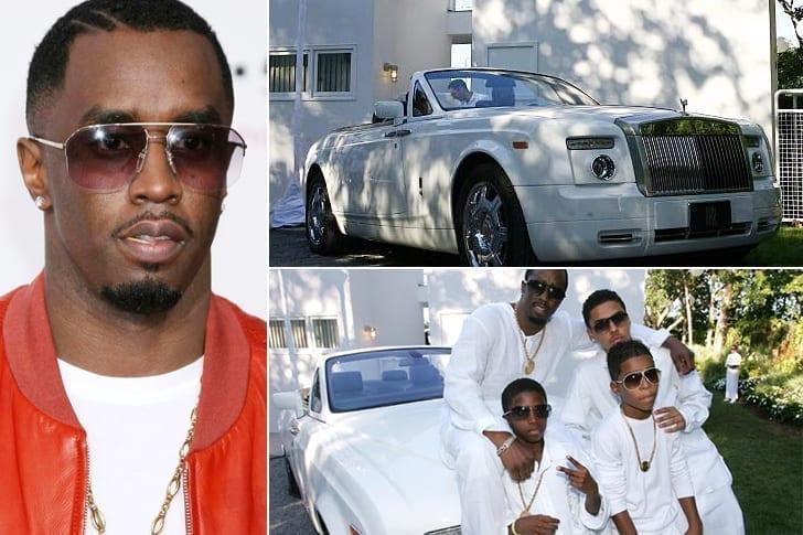 Une Belle Rolls Royce Phantom Pour Puff Daddy
