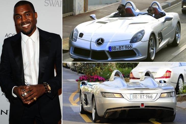 La Mercedes Décapotable De Kanye West