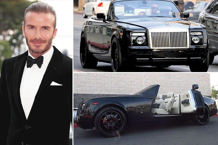 Une Impressionante Rolls Royce Phantom Coupée Pour David Beckham