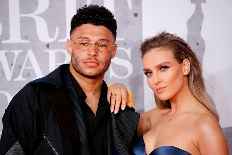Oxlade And Perrie Edwards