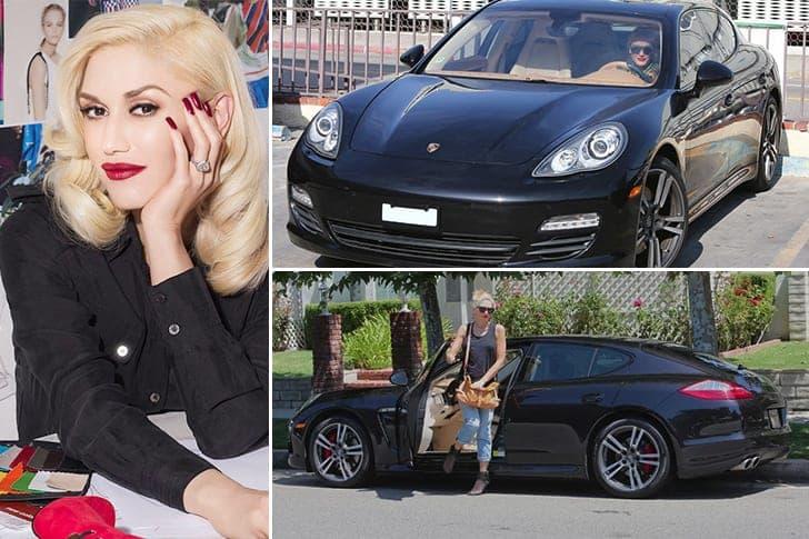 La Porsche Panamera De Gwen Stefani