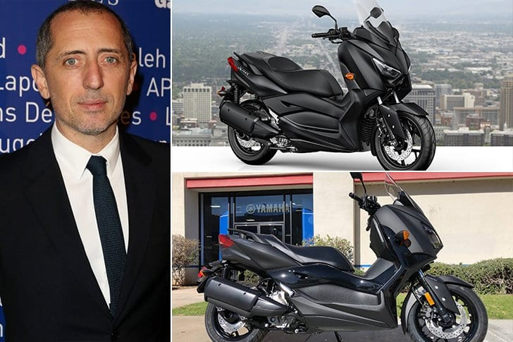 Gad Elmaleh Et Sa Moto XMax Yamaha