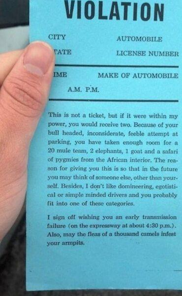 Faux Ticket