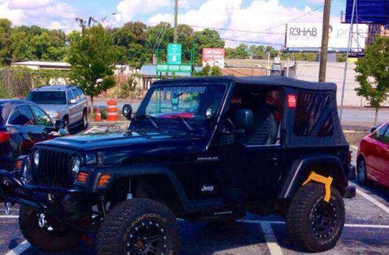 Jeep Confisquée