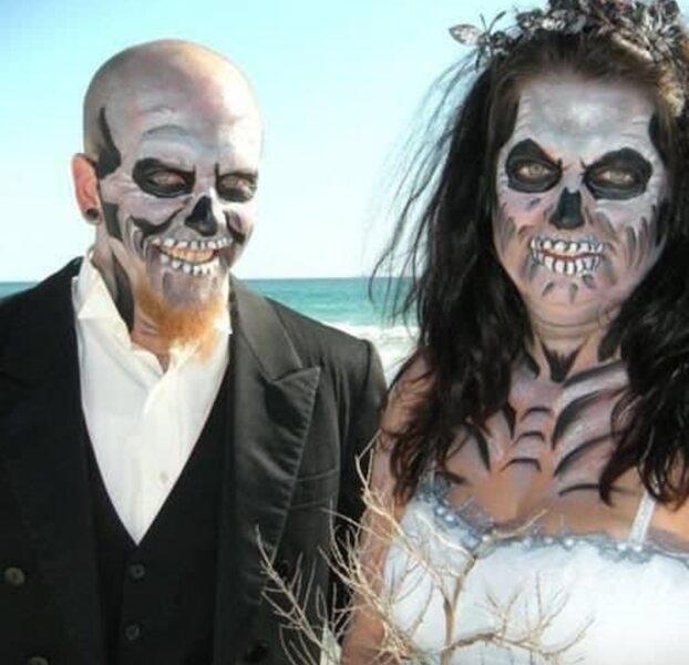 Halloween Sur La Plage... Et Au Marriage