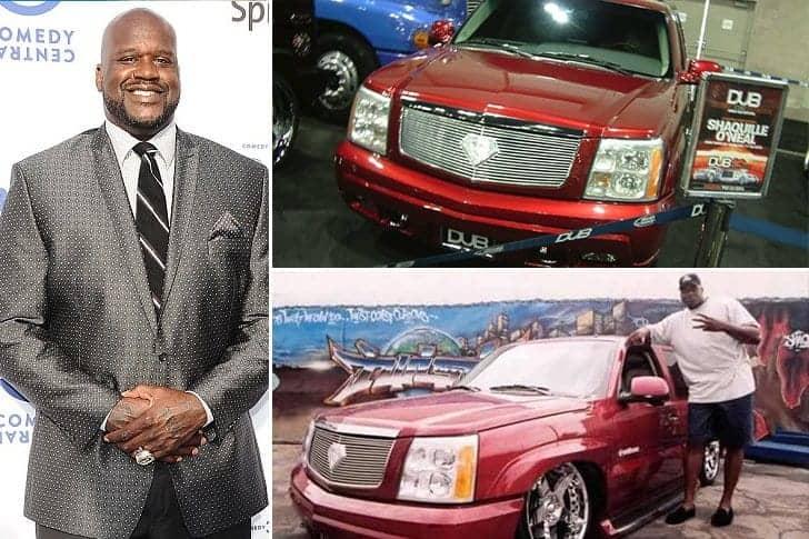 La Cadillac De Shaquille O' Neal