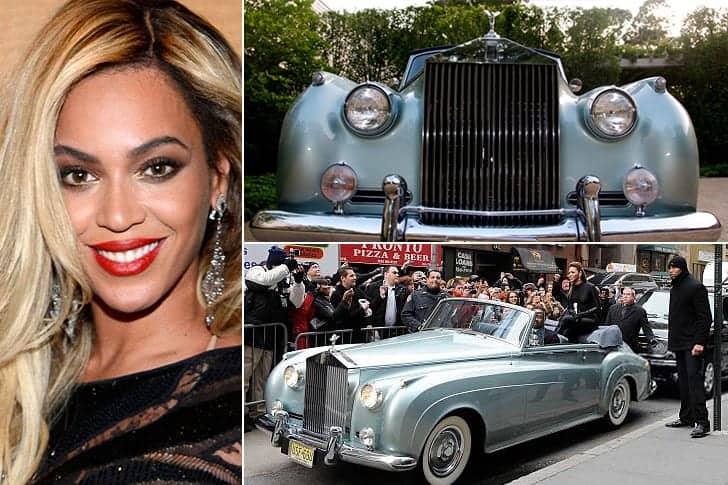 La Rolls Royce Décapotable De Beyonce