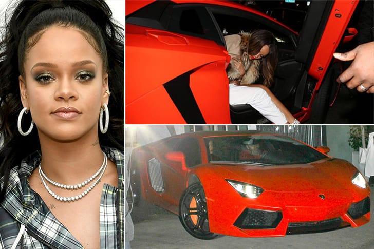 La Lamborghini Aventador De Rihanna