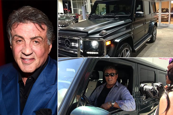 La Mercedez Benz De Stalone Alias Rocky