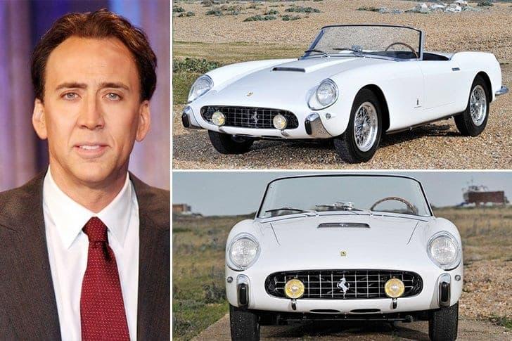L'onéreuse Ferrari De Nicolas Cage