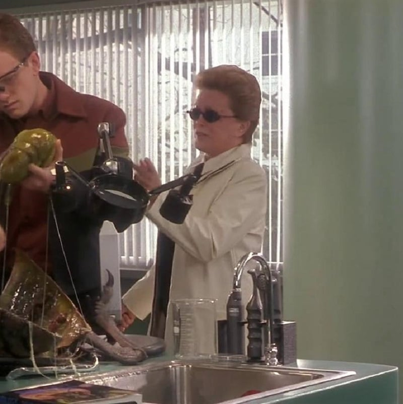 Rue McClanahan As The Biology Teacher